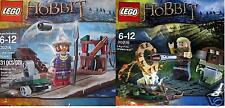 2x Lego Herr der Ringe Der Hobbit Legolas + Lake Town Guard +Zubehör 30215 30216