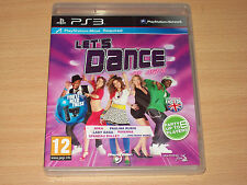 Let's Dance With Mel B Lets (Sony Playstation 3 PS3, 2011) Almost Perfect