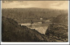 La Gileppe Belgien Postkarte Carte postale 1920/30 Gileppe Talsperre Panorama