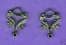 20 wholesale lead free pewter seahorse charms 1089