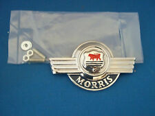 CLASSIC MORRIS MINOR FRONT EARLY TYPE BONNET BADGE