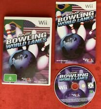 AMF Bowling World Lanes Game for Nintendo Wii / Wii U PAL complete