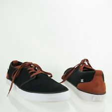 DC Studio 2 Black Umber Canvas Skateboarding Sneakers Shoes Men's US Size 11 M