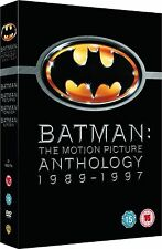 BATMAN Anthology Complete DVD Collection RETURNS FOREVER ROBIN 1 2 3 4 All Movie
