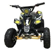 Electric Quad 1000w 36v - Yellow / Black - 8 Yrs Plus - 24 KM Range
