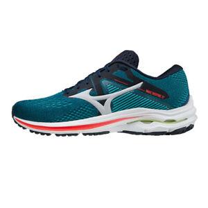 Mizuno Wave Inspire 17 Men's Road Running Shoes, GSea/NimbusCloud/IRed