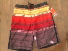 New listing Speedo Board Shorts Swim Trunks Liner Mens Size Medium Red Bluff 7840323K-685