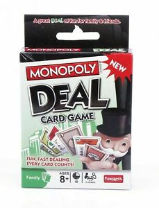 Monopoly Deal Card Game Funskool 2-5 Players family indoor (Latest Edition!)