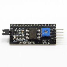 Interfaccia seriale IIC/I2C Nero Adattatore Modulo Board 5V per 1602 2004 LCD DISPLAY