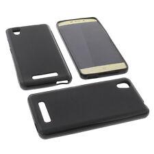 Funda para ZTE Blade A452 Funda protectora de móvil TPU GOMA FUNDA NEGRA