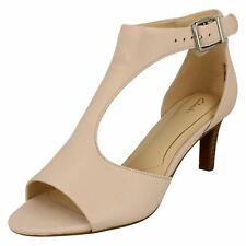 Clarks Laureti Star Leather Peep Toe Sandal