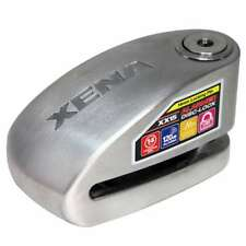 Xena XX15 Motocicleta Disco Alarma Cerradura de Acero Inoxidable-Grande Alcance Para Discos Grandes