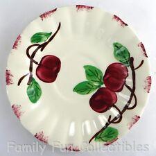 BLUE RIDGE~Saucer Plate~Autumn Apple~Hand Painted~Southern Potteries~Tea Cup