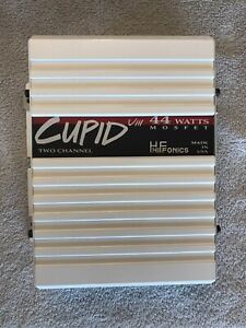 OLD SCHOOL Hifonics Cupid VIII Compact 2-Channel MOSFET Amplifier MADE IN USA!