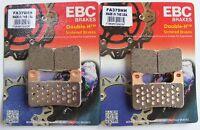 EBC Sintered FRONT Disc Brake Pads (2 Sets) Fits SUZUKI GSXR1000 (2004 to 2011)