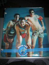 Vintage Blink-182 School Pocket Folder - Used