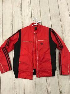 Adidas Bomber Chaqueta Rojo XL