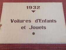 CATALOGUE VOITURE D'ENFANTS LANDAU - CHAISES PLIANTES ( ref 52 )