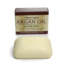 Nature's Spirit Argan Oil Butter Soap Nourish Skin Relieve Redness Cleansing 5oz