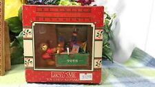 Enesco Lucy and Me toy chest ornament New in box