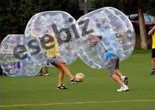Inflatable Bumper Bubble Balls Body Zorb Ball Soccer Bumper Football 1.5M Blue