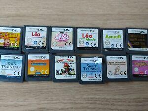 Lot de 12 jeux DS
