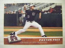 PAXTON PACE RC 2010 MISSISSIPPI STATE baseball card COLLINSVILLE MS TEXARKANA TX
