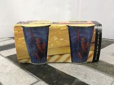 Spiderman 2 Shot Glasses Hot Topic Australia (2004) Release