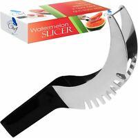 Watermelon Cutter Slicer Knife Server Corer Scoop Stainless Steel Kitchen Tool