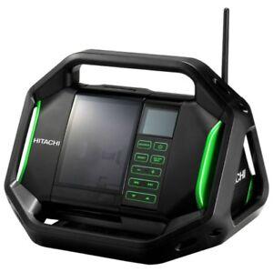 New Hitachi UR18DSAL(H4) 14.4V - 18V Li-ion Cordless AC Digital Radio