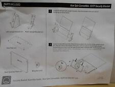 ONQ 17935-Kit-122 Acer Spin Convertible Spinner Security Bracket Set