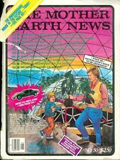 1978 Mother Earth News Magazine #50: Underground House of the Future/Tax Return