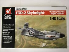 Czech Model Douglas F3D-2 Skynight 1:48 Scale Model Airplane Kit #4814