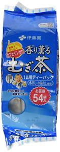 ITO EN Japanese Barley Tea Kaori Kaoru Aromatic Mugichae Tea COLD/HOT 54 Bags
