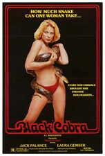 BLACK COBRA Movie POSTER 27x40 Jack Palance Laura Gemser Gabriele Tinti Michele