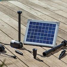 Solar Teichfilter Gr. L-1 - Teich-1.000L mit Oase Pondlith Solarpumpe Pumpenset
