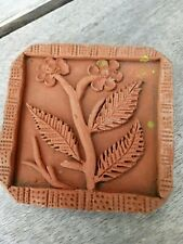 Vintage Butter stamp Pat Terracotta Clay Tile?