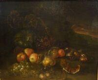 Large 17th Century Dutch Still Life Fruit Figs Onions Jean-Baptiste MONNOYER