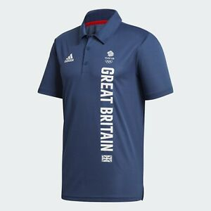 Official Adidas Team GB Olympic Tokyo 2020 Men's Polo Shirt