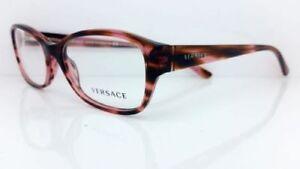 VERSACE MOD.3176 5041 Stripped Pink Frames 53mm - 129