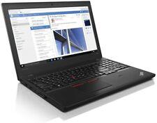"""Lenovo ThinkPad T560 15.6"""" Business Laptop Core i5-6200U 8GB 256GB SSD Win 10"""
