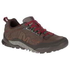 Merrell Annex Trak Mens Black Brown Leather Walking Trainer Shoes Size UK 7-13