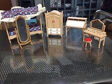Tomy Smaller Homes Doll House Furniture Bedroom set Lot B