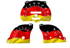Cristal velocímetro para Opel combi Vectra A-Astra F Alemania de tacómetro 1014
