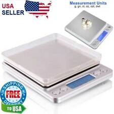 Digital Scale 2000g x 0.1g Jewelry Gold Silver Coin Gram Pocket Size Grain