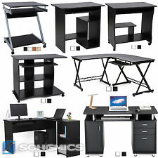 Bureau informatique Table informatique Meuble de bureau pour ordinateur Songmics