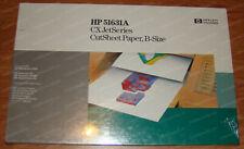 New HP 51631A CX JetSeries PaintJet B-Size 11x17 Cut Sheet Paper 200 Pages