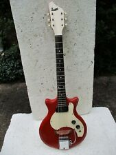 SUPRO SUPROSONIC GUITAR, 1964, RED, WANG BAR, VERY COOL