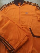 Adidas Vintage tracksuit création Ventex Made in France 70s 80s, 180cm M / L