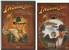 Indiana Jones Raiders of the Lost Ark (Dvd, Widescreen) Disc & Cover Art Only